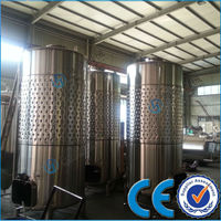 845 Gallon Jacketed Wine Fermentation Tank