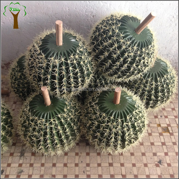 factory make different sizes of artificial cactus ball buy