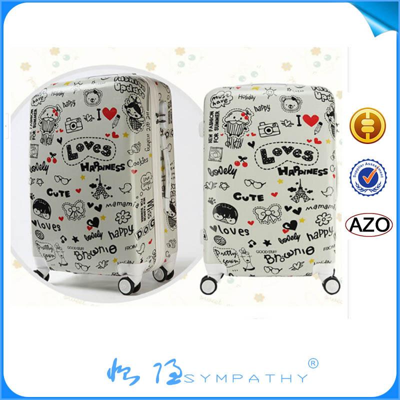 Travel Luggage Trolley Luggage Bag Girly Suitcase - Buy Girly ...
