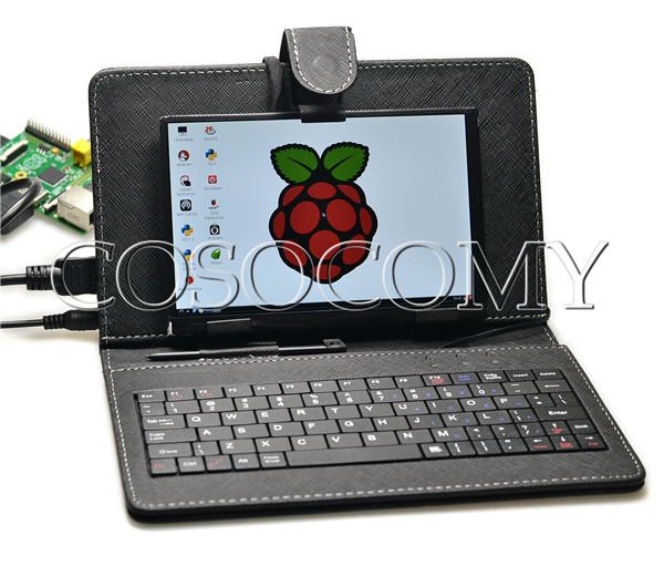 7 Inch High Resolution 1280 800 Ips Screen With Keyboard