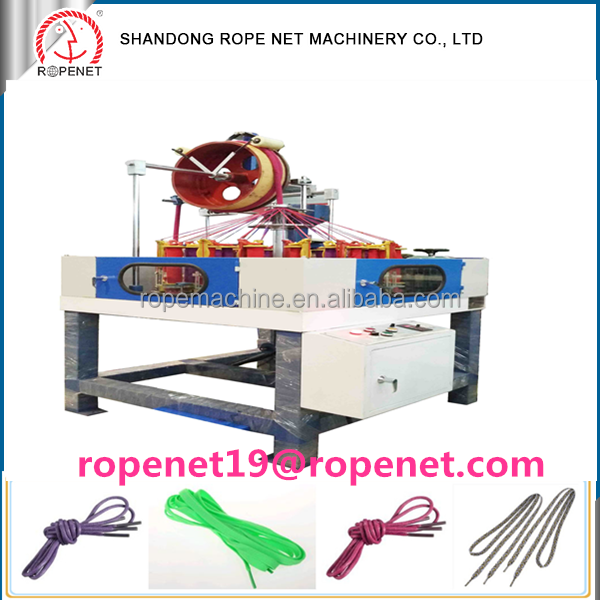 32 Spindles Hollow Flat Cotton Shoelaces Braiding Making Machine