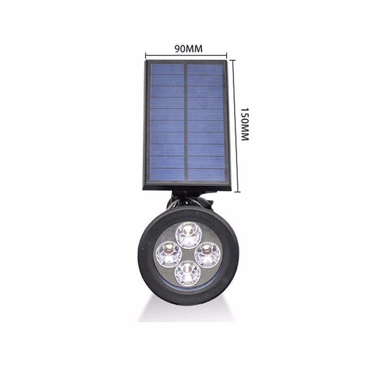 nueva llegada proyector led de energa solar luz solar al aire libre jardn csped lmpara paisaje