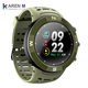 2018 New NO.1 F18 Smartwatch Sports Bluetooth 4.2 IP68 Waterproof Smart Watch GPS Call Message Reminder Pedometer Sleep Monitor