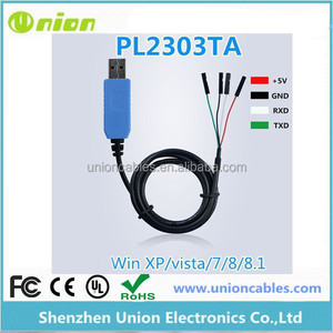 Pl2303 Usb/ttl/rs232 Convert Serial Cable Connector