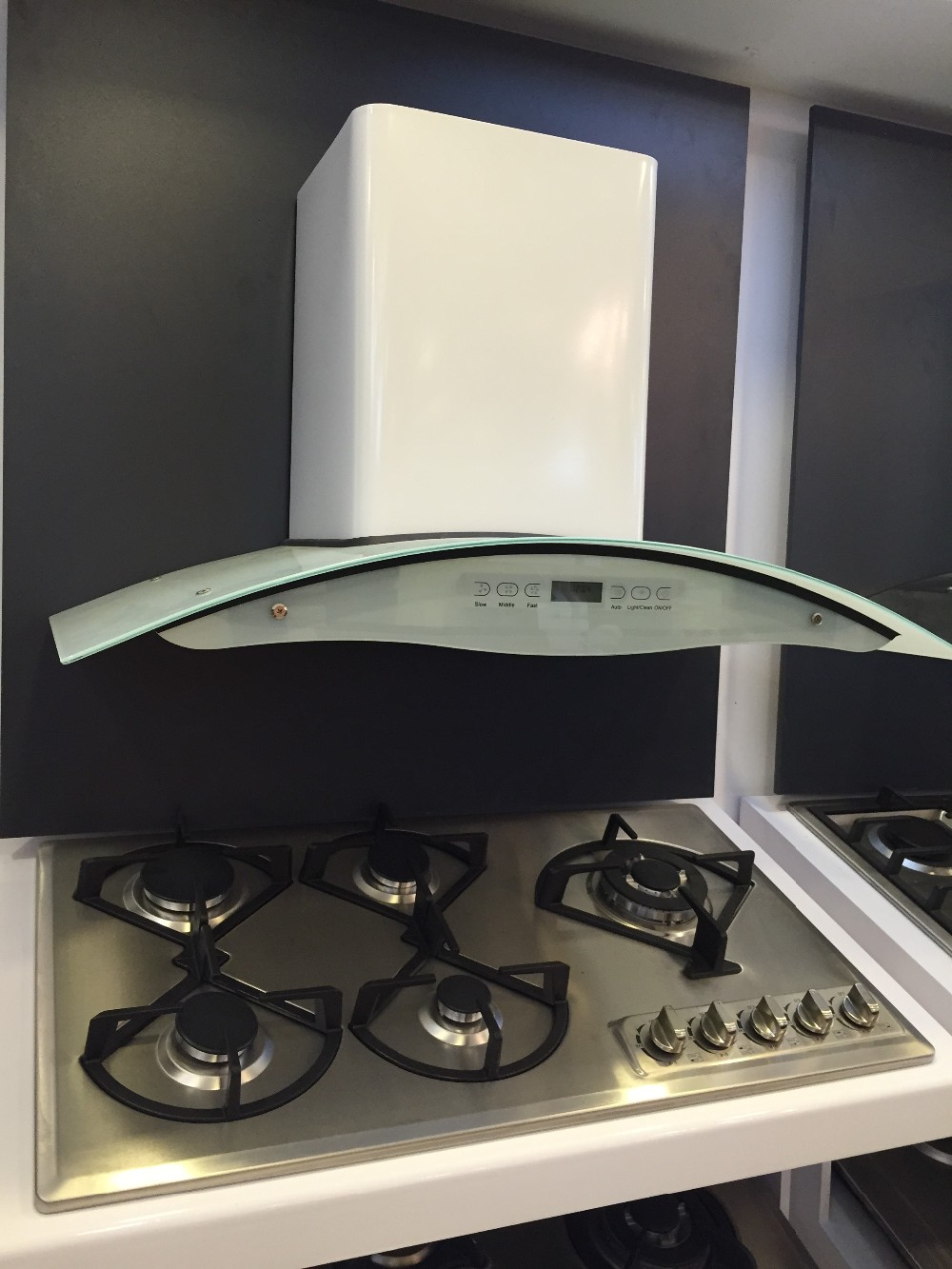 2016 Ss Filter Big Oil Cup Chinese Range Hood/cooker Hood