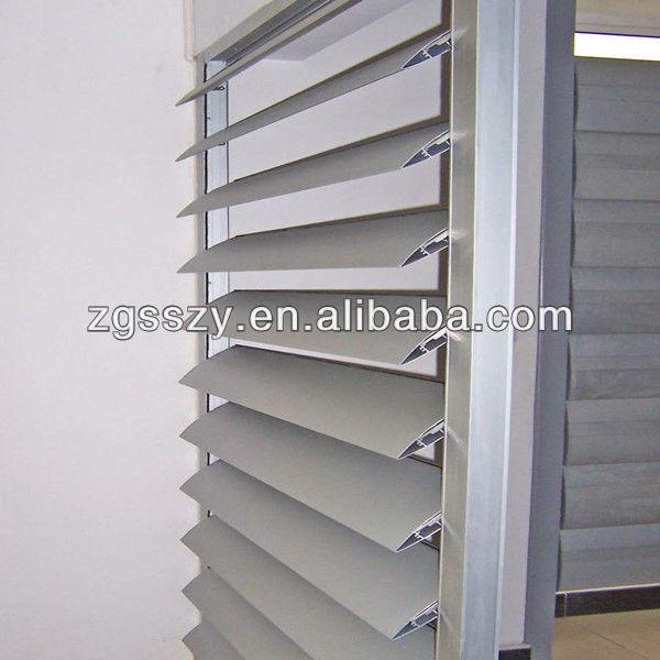 Parasol de aluminio de lamas verticales persianas outdoor - Lamas persianas aluminio ...