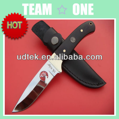 Hot Sale Elk Ridg ER010 Mirror Light Hunting Knife With Pure Copper Armguard
