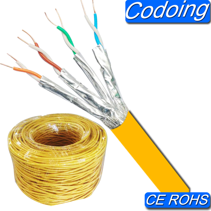 Codoing High Speed Cable S/FTP Lan Cable Patch Cord Cat 7 Cable