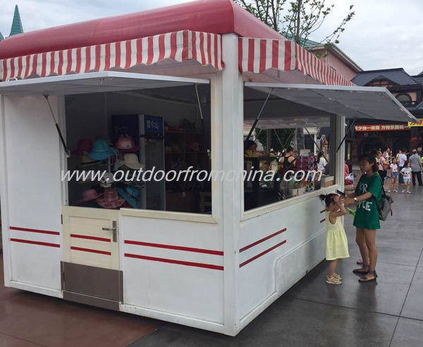 Crazy price mobile hot dog cart