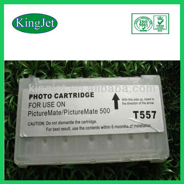 Kingjet Refillable Cartridge T5570 Use For Epson Picture Mate500