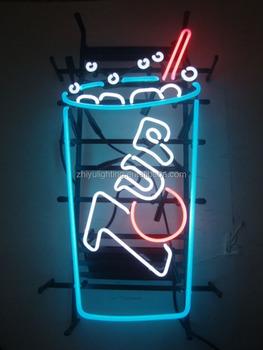 Bar Sign Neon Lights Gl Beer Bottle Decoration