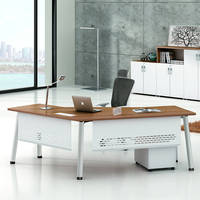 executive luxury office furniture office desk manufacturers steel legs office table