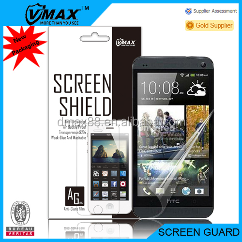 Mobile screen protector film roll for HTC one m7 em/odm (Anti-Glare)