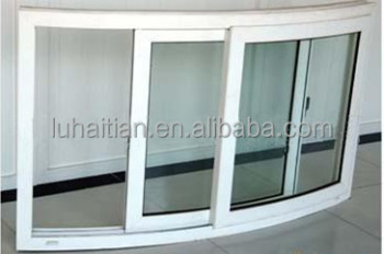 Special Pvc Sliding Bent Window New Design