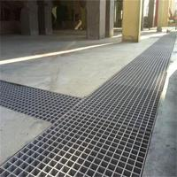 Stainless steel floor drain grate drainage channel