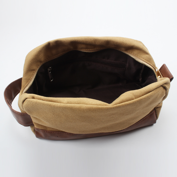 Canvas Travel Men's Toiletry Bag Cosmetic Bag