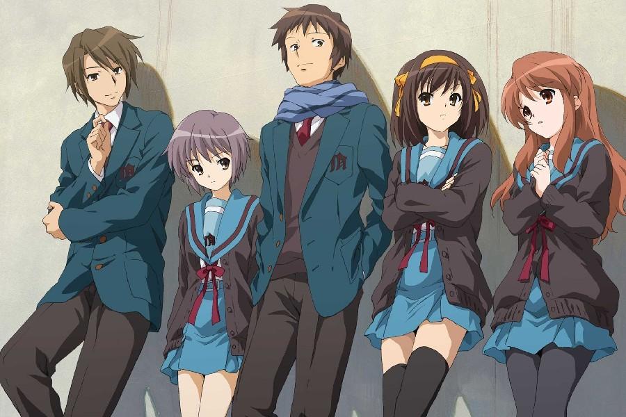 Haruhi Suzumiya Melankoli anime ile ilgili görsel sonucu