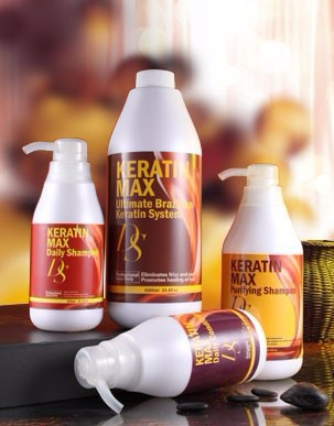 Wholesale hair salon products brazilian hair treatment keratin straightening eliminates frizz and curl hair