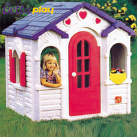 High quality children choose LLDPE colorful kids play house