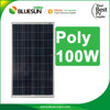 Bluesun high quality hot sale poly 100watt controller solar panel