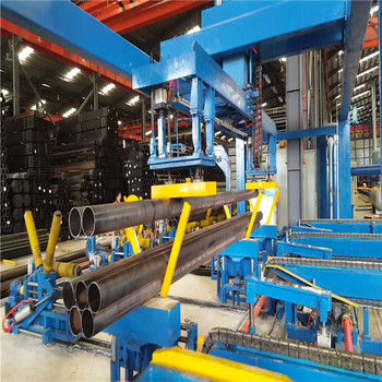 Steel Pipe Stacking & Packaging Machine