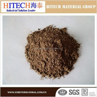 Refractory monolithic ramming mass dry mass for the steel furnace/ladles/tundish