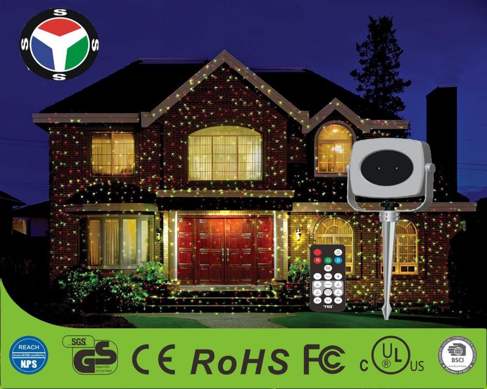 Ip proiettore laser rosso e verde di natale decorativa giardino