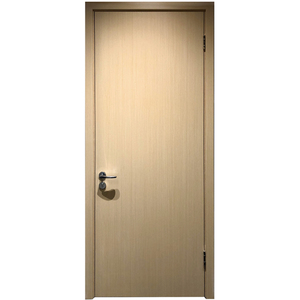 Prettywood Certificated Modern Interior Wooden Apartment Hotel Fire Rated Door