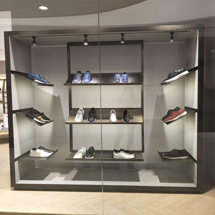 release date: 677cb 06514 Custom Metal Portable Floor Display Rack for Air Jordan Shoe