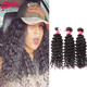 ALI Queen Single Donor 8A Deep Wavy Virgin Women Hair Bundle From Brazilian