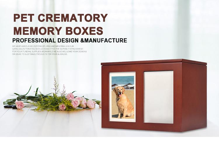 Bestseller Holz Haustier Feuerbestattung Memory Truhen