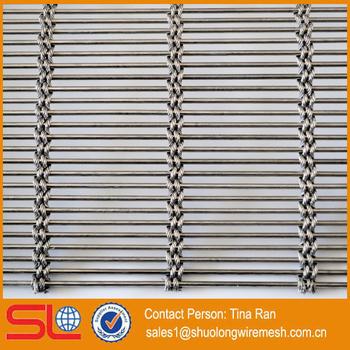 shuolong supply xym3258 stainless steel metal mesh screen metal weave converyor belt