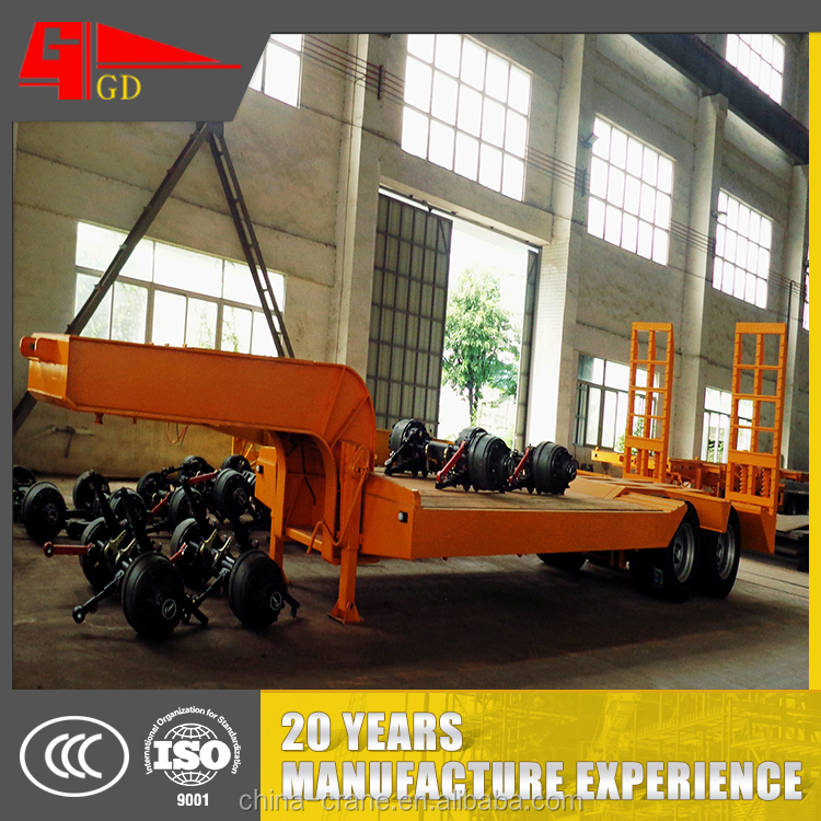 Factory supply mechanical suspension semi trailer chassis