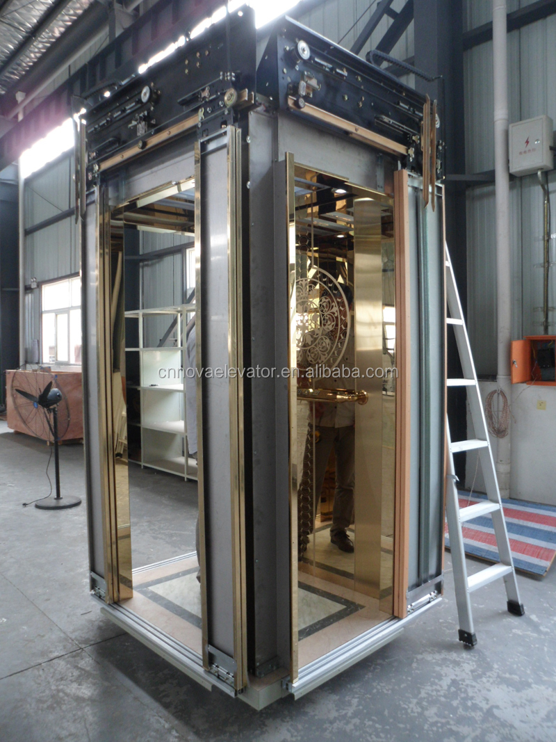 China Small Home Life Elevators Stainless Steel Lift