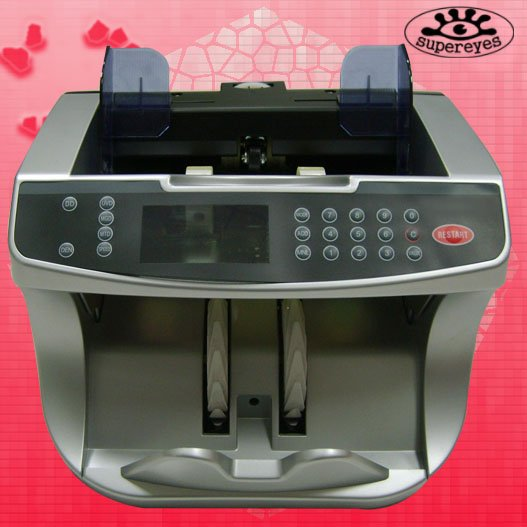 Professional Multi Denomination money counter Discriminator Value counter for USD/EURO/GBP