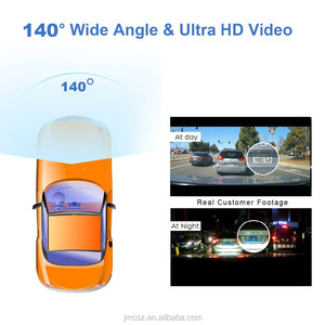 Wifi Car Dash Camera With GPS Tracking Wireless Connection 1080P HD