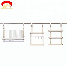 Multifunctional Space Durable Wire Shelving Fruit Basket Rack Stand