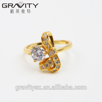 rings crop party for crown ring wedding crystal female women color jewelry cubic allstorebox rose gold fashion product zirconia