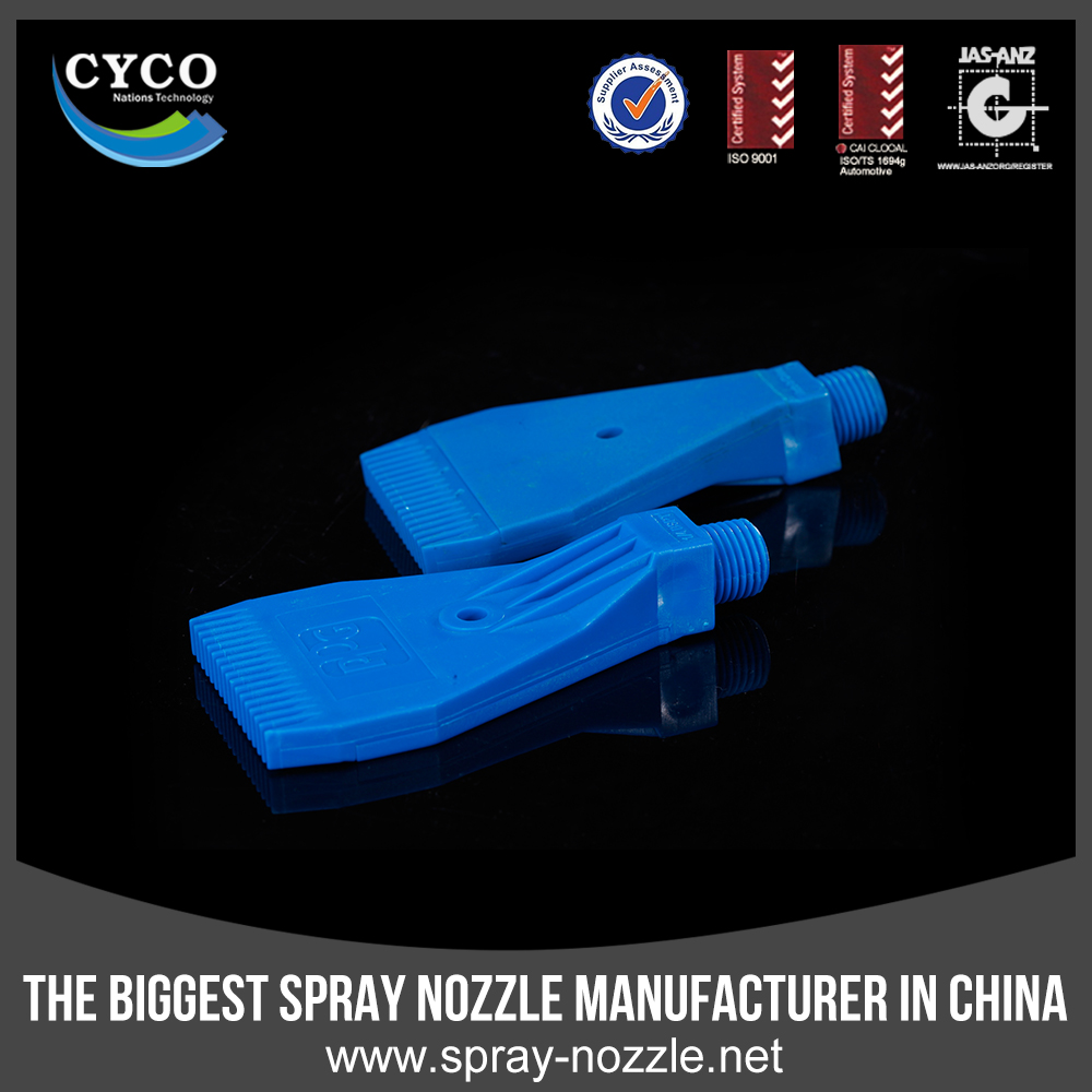 CYCO Quick Jet Spray Easy Dismantling Nozzle, Factory Plastic Washing&Rinsing Water Nozzle, Flat Fan Dismantling Nozzle