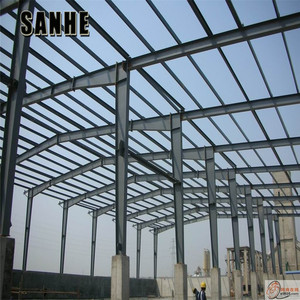 light weight steel shed plant substation steel structure