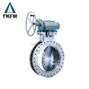 Flange hard seat leak proof large diameter metal sealing butterfly valve dn 500 manufacturer