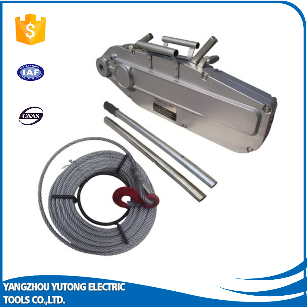 wire rope pulling electric winch