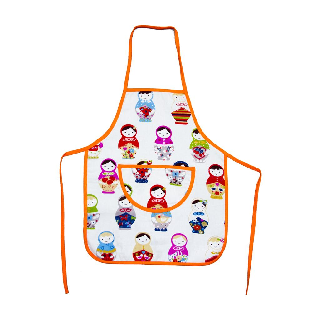 KEFEI double apron bathtub printed cute baby apron