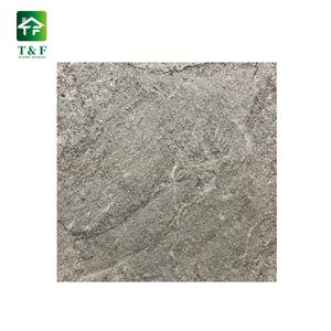 Light Gray Heat Resistant Outdoor Terrazzo Ceramic Tilesexternal Car Parking Floor Comfortable Glazed Tiles