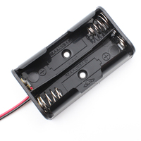 2 x AA Battery Holder With Leads