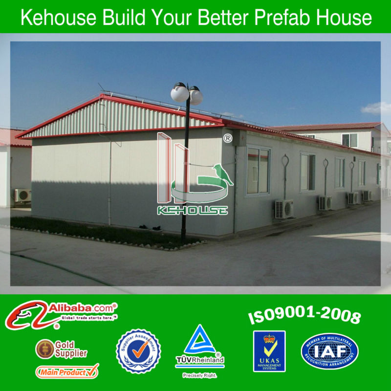 Low Cost Camp portable wooden house/ wood kit/prefab house