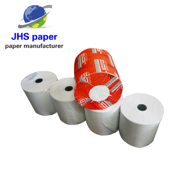 cash register thermal paper rolls 80x80 12 core pos paper roll 3 1/8 x 230