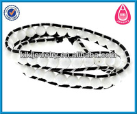new product wholesale european style leather wrap ankle bracelets bracelet making supplies leather bracelet
