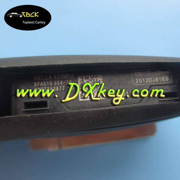 Original Remote Keys 433mhz Car Key Frequency For Citroen C5 3 ...