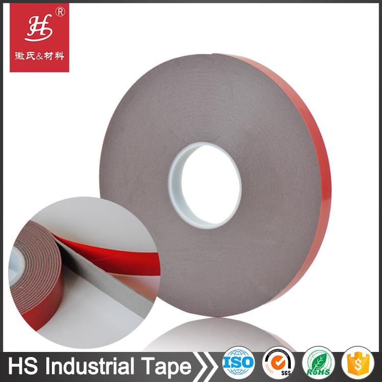 Permanent double sided foam weather seal tape